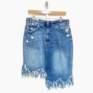 Zara IXD Makers Jean Skirt